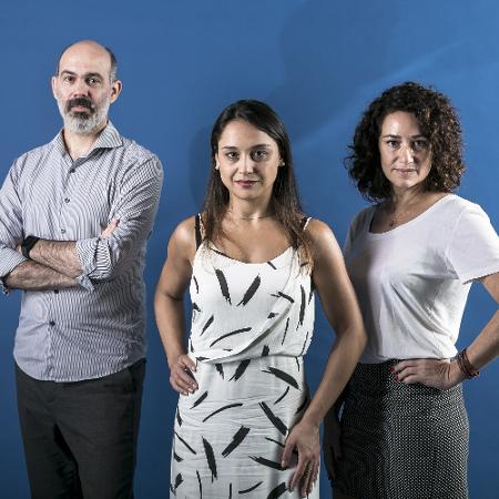 Diogo Schelp, Carla Bigatto e Maria Carolina Trevisan apresentam o Baixo Clero todas as quintas, às 18h   - Keiny Andrade/UOL