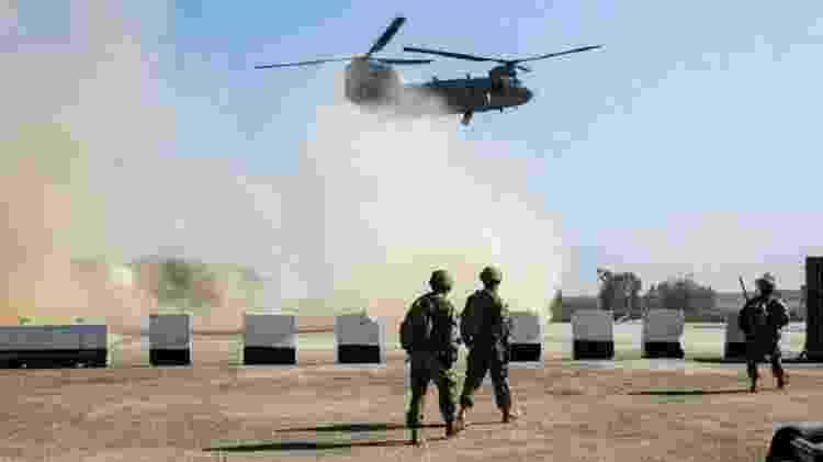 Três soldados, dois policiais e um civil foram mortos no contra-ataque americano  - Gettu Images - Gettu Images