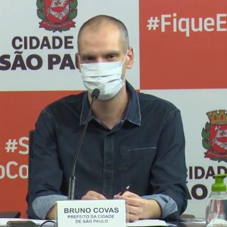 17.mai.2020 - O prefeito de São Paulo, Bruno Covas (PSDB) - Reprodução