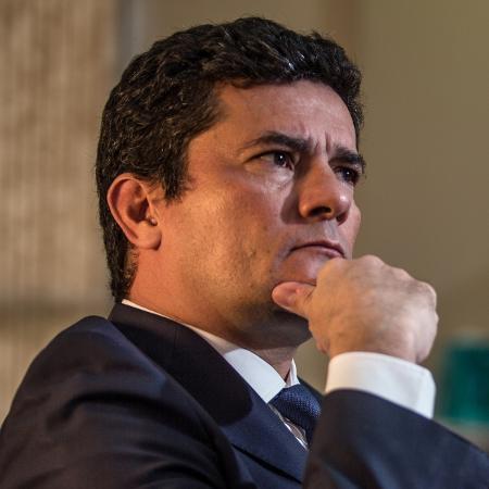 """Na última terça, Moro afirmou que """"não é o momento de pensar"""" em plano político - Andre Coelho/Getty Images"""