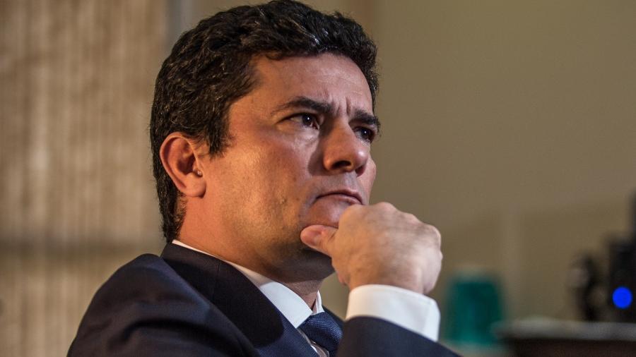 """""""Estou mais preocupado com 2020 do que com 2022"""", diz Sergio Moro - Andre Coelho/Getty Images"""