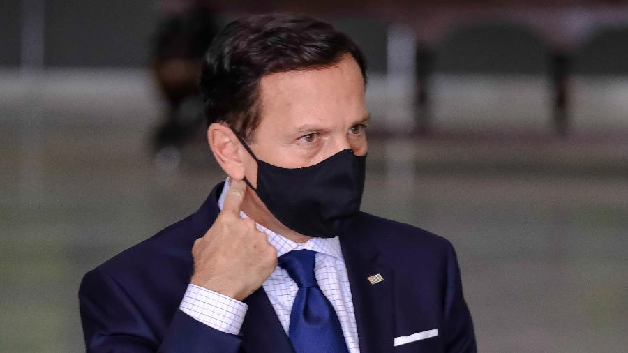 Governador João Doria (PSDB) disse à Itatiaia que a vacina do Butantan deve ser distribuída em janeiro - Marcello Zambrana/Agif/Estadão Conteúdo