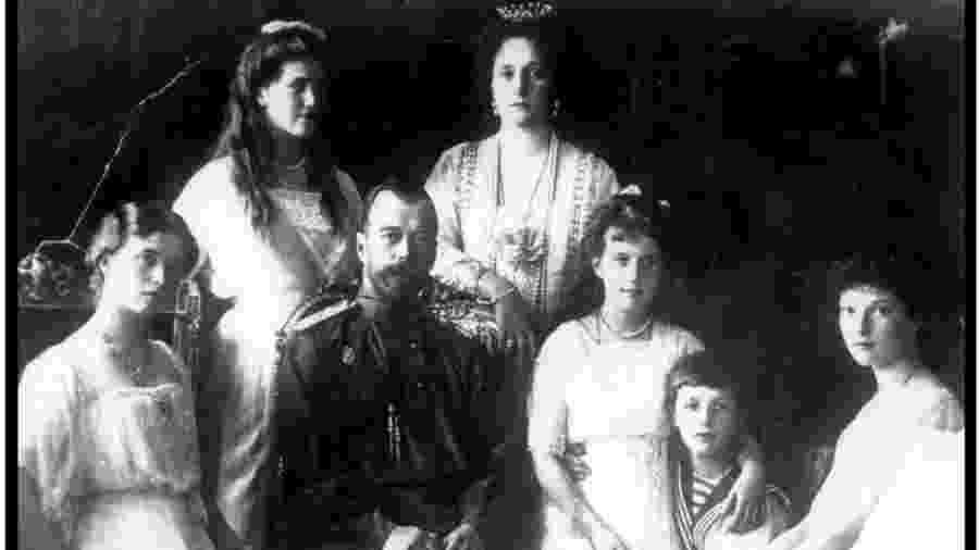 Família real russa foi assassinada no dia 18 de julho de 1918 - PA