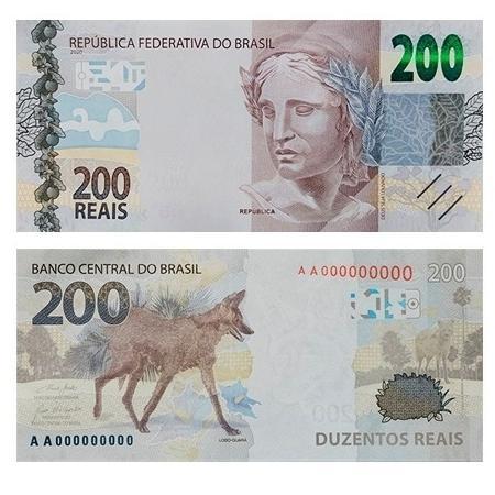 Carta afirma que nota de R$ 200 estimula atos de corrupção - Reprodução/Banco Central