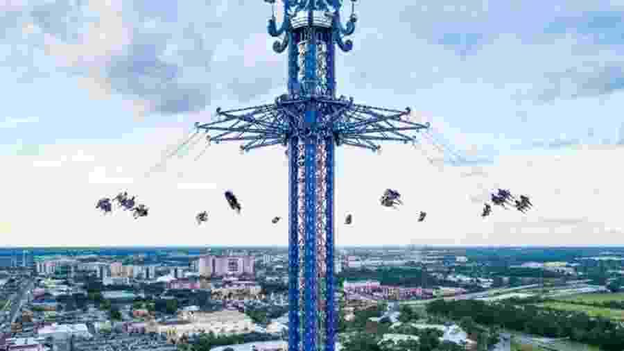 A torre StarFlyer, a atração do Icon Park, em Orlando (EUA) - Divulgação