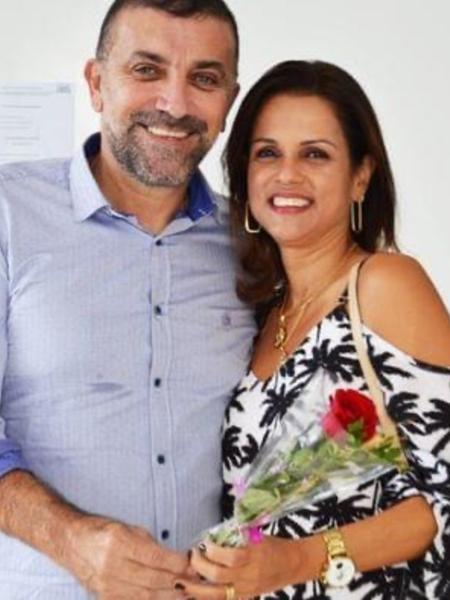 Raimundo da Cruz Bastos (PSD) e Elba Rejane Silva foram encontrados em um apartamento de Salvador - Redes sociais/Reprodução