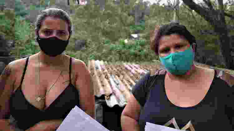 A atendente Sheila Resende e a auxiliar Edilaine Moura lutam pela inocência dos filhos - Marcelo Oliveira/UOL - Marcelo Oliveira/UOL