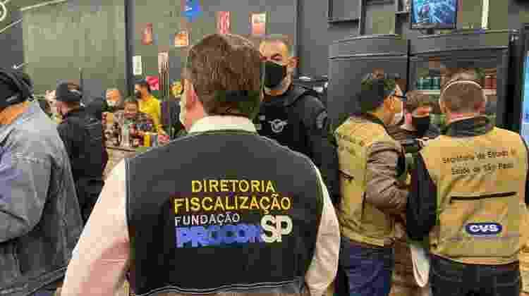 21.abr.21 - Polícia interrompe festa clandestina em Jandira, SP - Divulgação/Polícia Civil - Divulgação/Polícia Civil