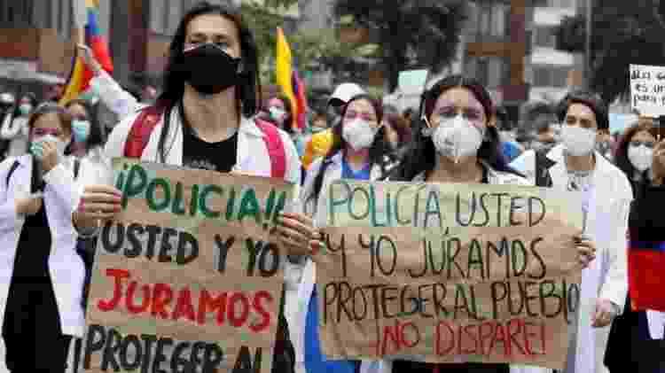 Na última segunda-feira, foram realizados protestos contra a violência policial - EPA - EPA