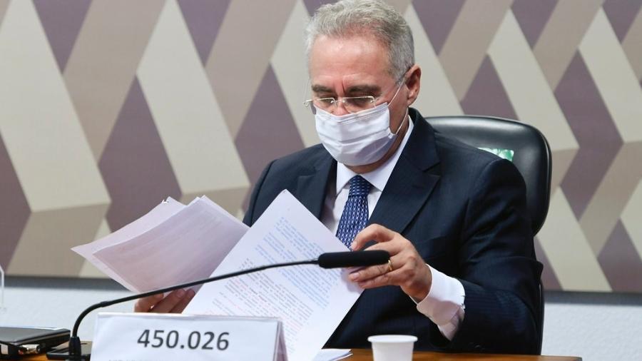 Assessoria do senador Renan Calheiros (MDB-AL), relator da CPI da Covid, confirmou adiamento da apresentação - Edilson Rodrigues/Agência Senado