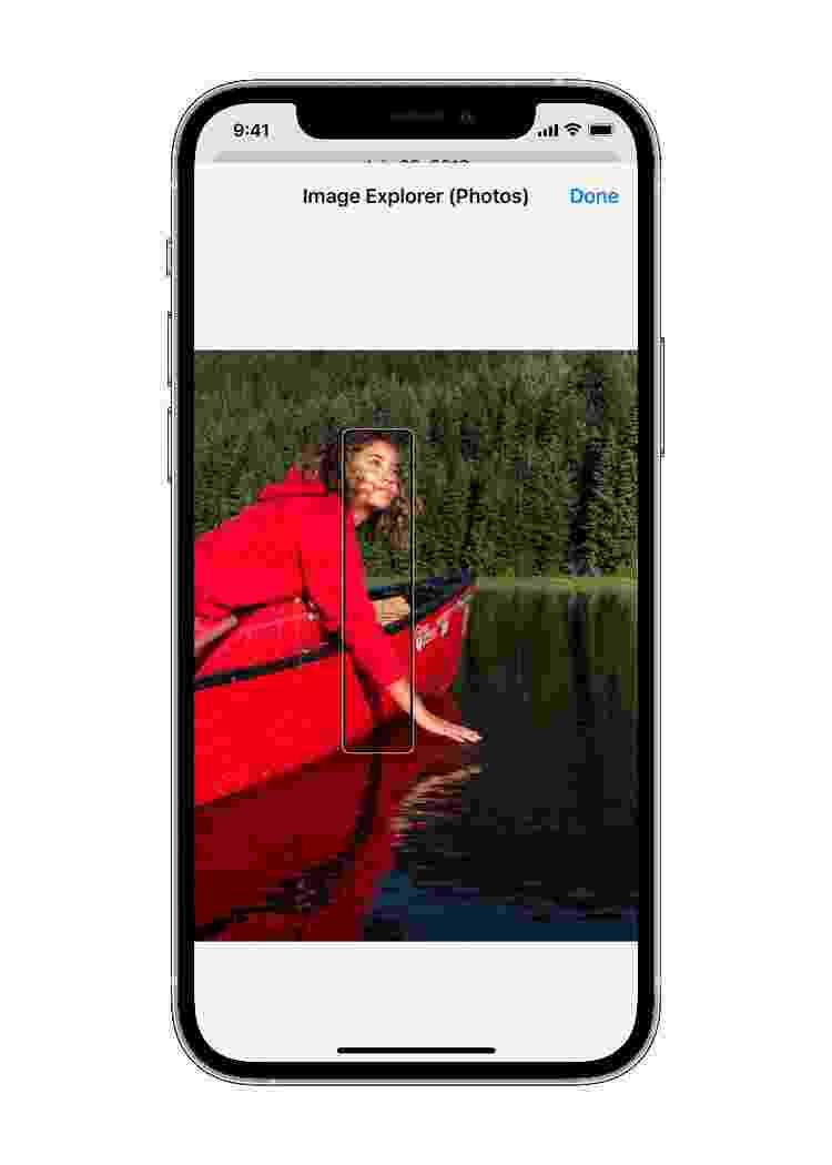 Explorar imagens com VoiceOver - Divulgação/ Apple - Divulgação/ Apple