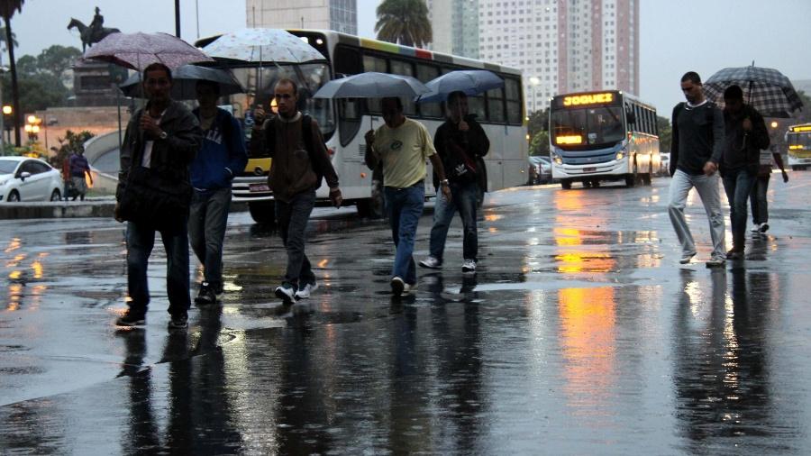 Frente fria deixa o RJ no sábado, mas ainda pode chover hoje à noite - José Lucena/Futura Press/Estadão Conteúdo