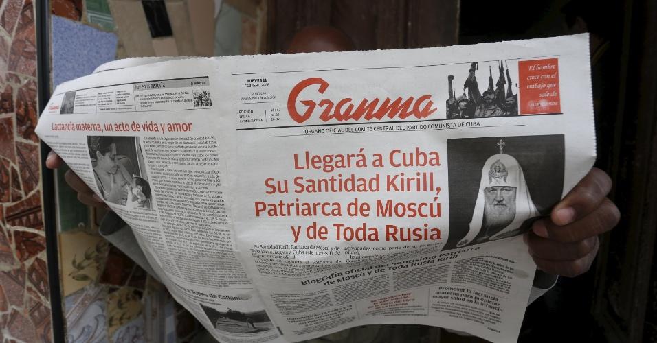 12.fev.2016 - Para analistas, Cuba é uma boa escolha por ser amigável com a Igreja Católica - apesar de ateia, a ilha historicamente foi um país católico -, e também por ter sido o aliado mais próximo de Moscou no continente americano além de distanciar os dos líderes da Europa, que sempre influenciou a história das duas igrejas