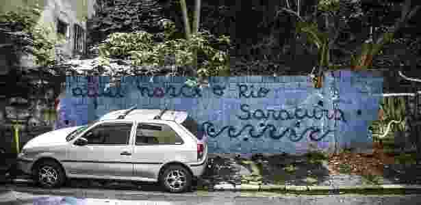 Nascente do rio Saracura, em São Paulo - Lucas Lima/UOL - Lucas Lima/UOL