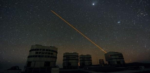 Pesquisadores sugerem usar laser para esconder Terra de alienígenas