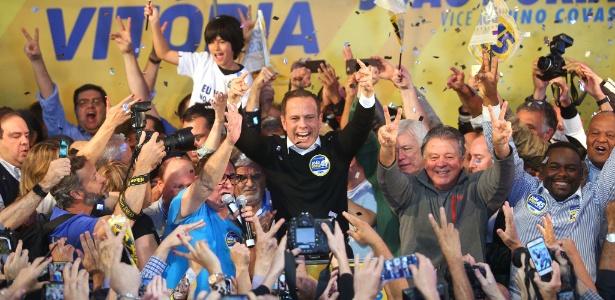 Doria conseguiu a principal conquista tucana, levando a Prefeitura de São Paulo no primeiro turno