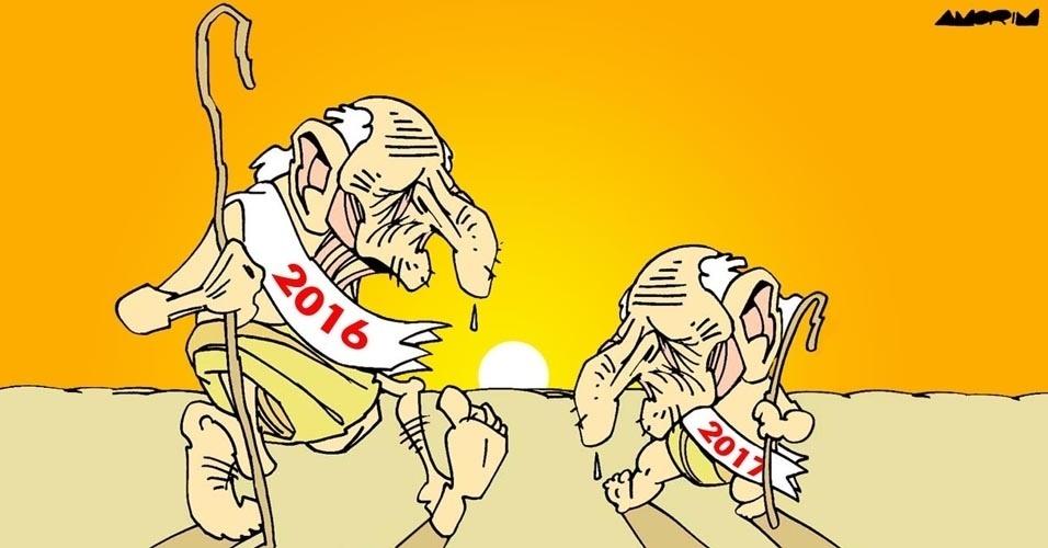 1º.jan.2017 - O Ano Novo chega com a cara velha do ano velho