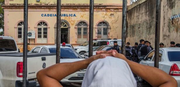 Presos levados para o interior estavam na Cadeia Pública Raimundo Vidal Pessoa