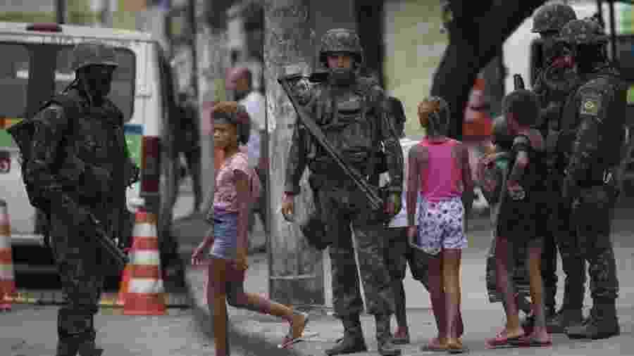 Desde 2010, Forças Armadas já participaram de mais de 40 operações de Garantia da Lei e Ordem (GLO) - AFP