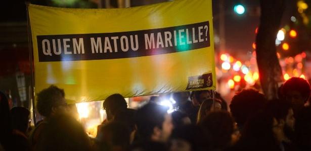 O assassinato da vereadora Marielle Franco provocou polêmica entre defensores dos direitos humanos e aqueles que os consideram proteção a bandidos - Fernando Frazão/Agência Brasil