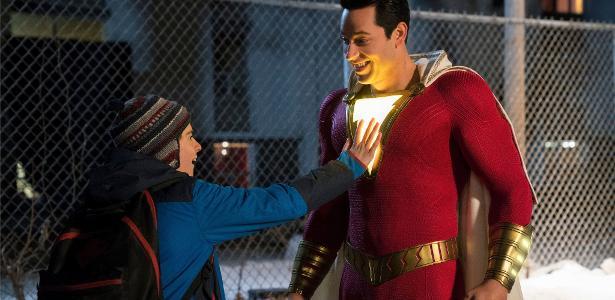 Só Brasil viu | Novo trailer de Shazam! na CCXP brinca com Batman e Superman