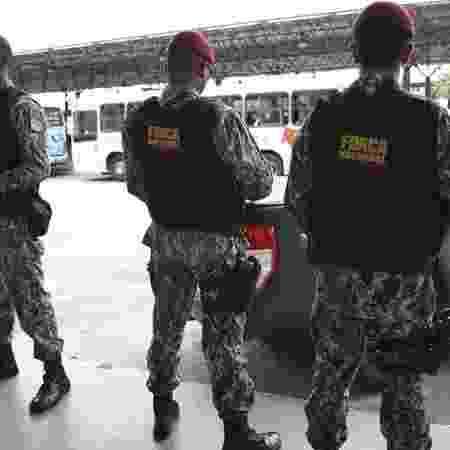 Homens da Força Nacional (imagem de arquivo) - Agência Brasil