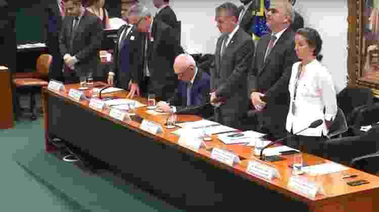 Câmara faz minuto de silêncio por vítimas de Brumadinho (MG) - Reprodução/TV Câmara