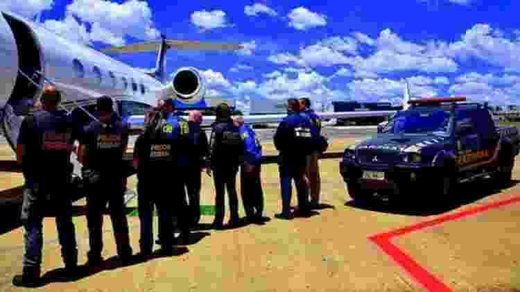 Transferências têm ampliado os conflitos dentro e fora dos presídios, diz especialista - Polícia Federal/BBC - Polícia Federal/BBC
