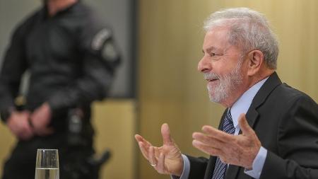 17.out.2019: Lula está preso desde 7 de abril de 2018 em na Superintendência da PF em Curitiba - Ricardo Stuckert/Instituto Lula