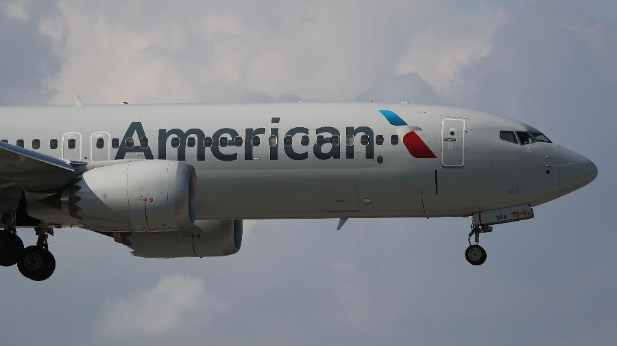 Avião da American Airlines - Joe Raedle/Getty Images