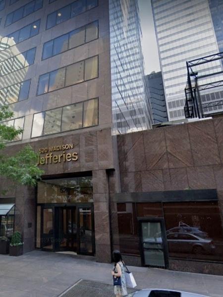 Jefferies Group - Reprodução/Google Maps