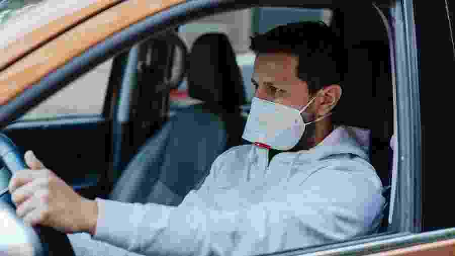 Motoristas e passageiros são obrigados a usar máscaras desde o último dia 4 de maio - Getty Images