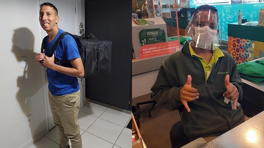 O técnico administrativo Wellington Failla, 30, e o estudante de jornalismo Jonathan Sousa, 22 - Reprodução