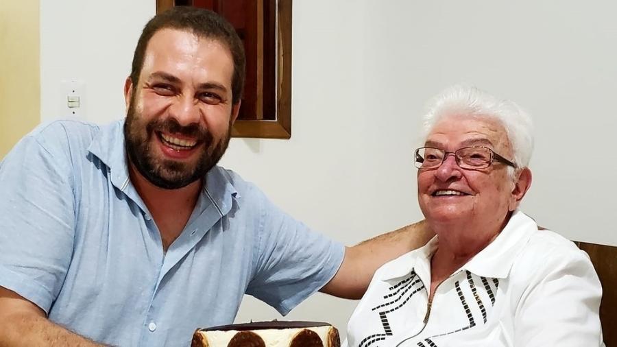 Guilherme Boulos e Luiza Erundina, do PSOL - Reprodução