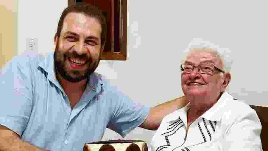 Guilherme Boulos e Luiza Erundina formarão chapa do Psol nas eleições municipais em SP - Reprodução