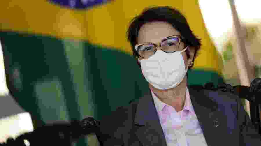 Tereza Cristina, ministra da Agricultura, afirmou que os preços do arroz deverão se equilibrar a partir de janeiro - ADRIANO MACHADO