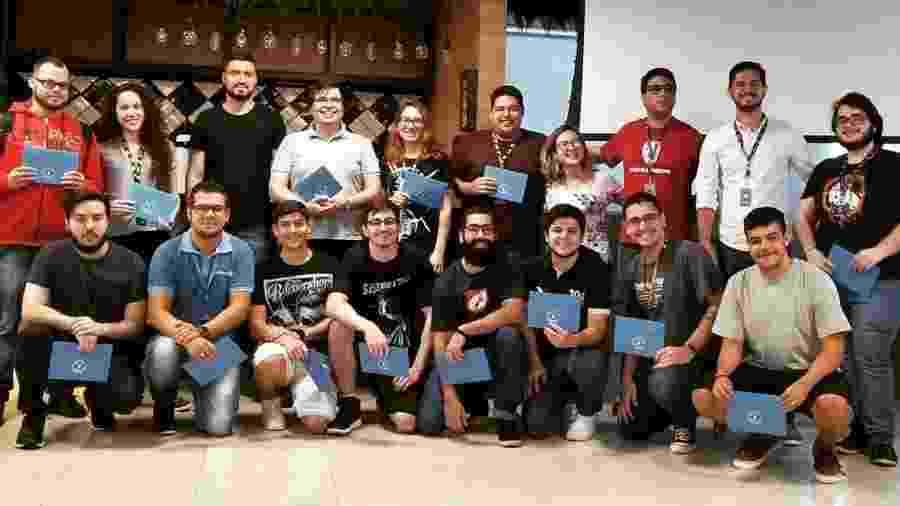 Evento com carta de promoção do CEO da TecnoSpeed - Divulgação/TecnoSpeed