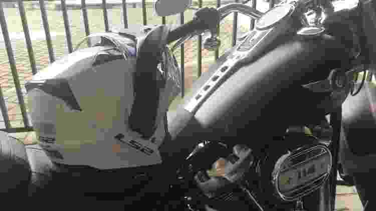 Harley LS2  - Rodrigo Mora/UOL - Rodrigo Mora/UOL