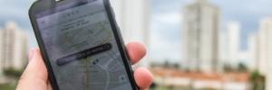 Esqueceu algum objeto no Uber? Veja o que fazer para recuperá-lo (Foto: Luciano Claudino / Codigo19 / Folhapress)