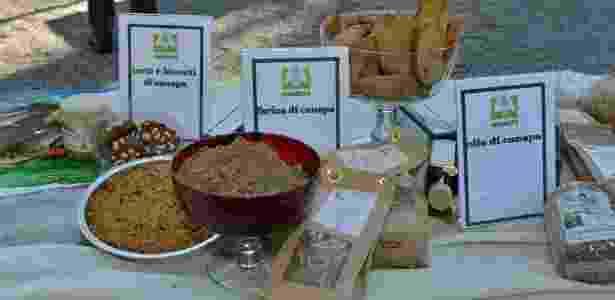 12.abr.2017 - A cannabis pode ser utilizada como matéria-prima para diversos alimentos. Farinha feita com a semente não contém glúten  - Coldiretti/Divulgação - Coldiretti/Divulgação