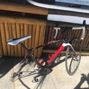 27.ago.2017- A bicicleta de Crespo, após o atropelamento - Arquivo pessoal