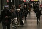Em túnel deprimente e claustrofóbico, terrorista detonou uma bomba em NY - JEENAH MOON/NYT
