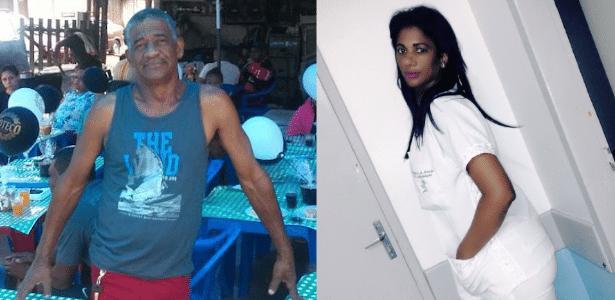 Claudicínio Capistrano de Araújo e Viviane Santos Alves Araújo morreram no local