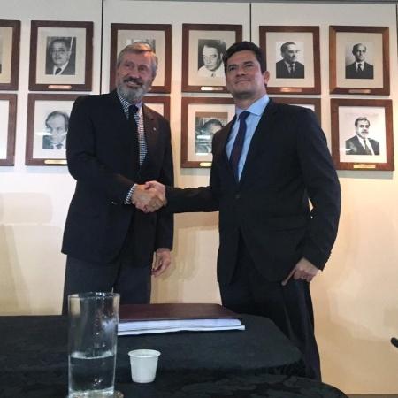 Torquato e Moro se reúnem em Brasília - Gustavo Maia/UOL
