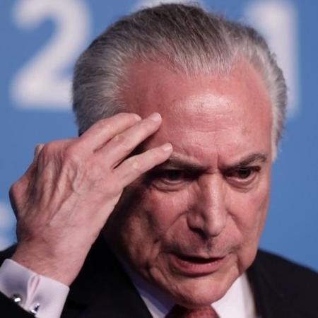 Temer foi detido pela Polícia Federal após sair de casa em São Paulo - AFP/Getty Images
