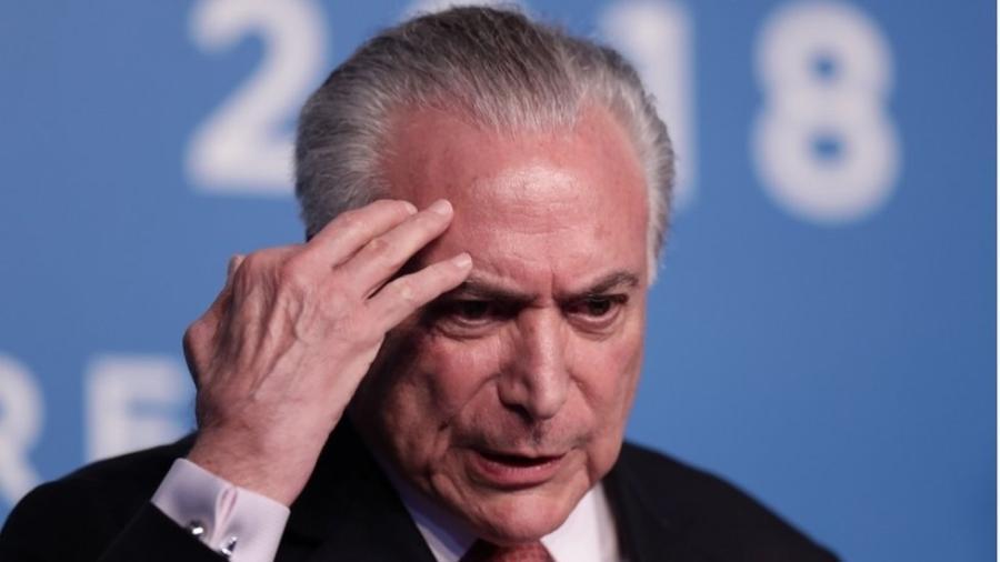 O ex-presidente Michel Temer - AFP/Getty Images