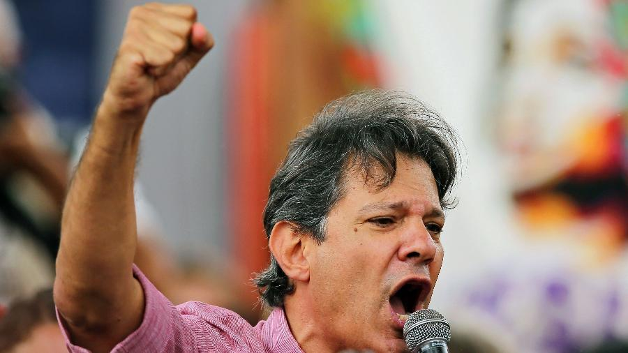 O ex-prefeito de São Paulo, Fernando Haddad - Heuler Andrey/STR