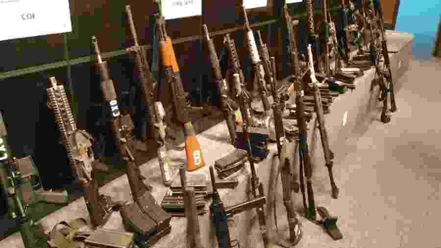 Operação na Maré apreende 23 fuzis e prende número 2 do tráfico - Divulgação
