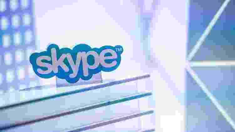 Serviços como Skype, oferecido pela Microsoft, não mais poderão ser acessados por meio das contas desativadas - Getty Images - Getty Images