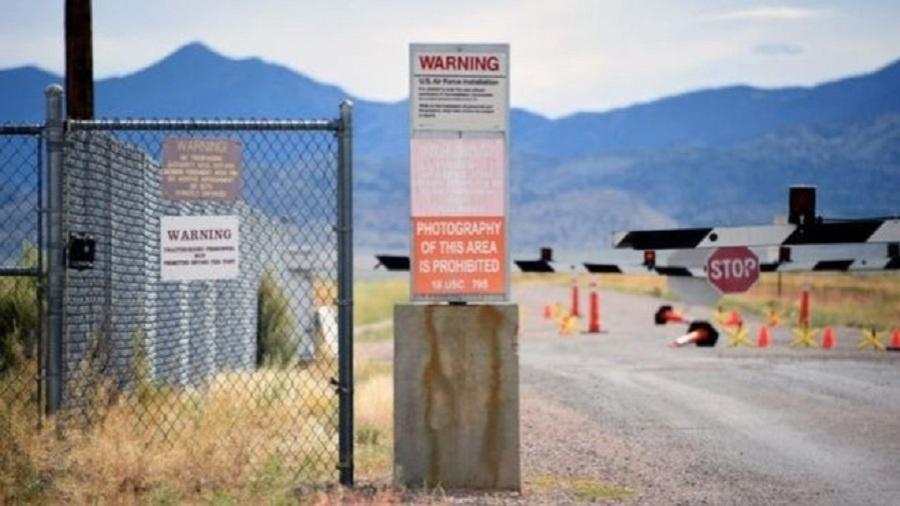 Entrada da Área 51 na localidade de Nevada (EUA) - Reuters
